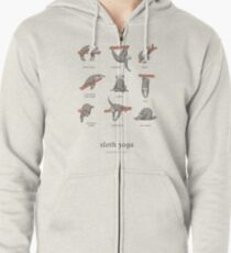 Sloth Yoga - The Definitive Guide Zipped Hoodie