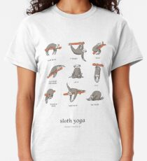 Sloth Yoga - The Definitive Guide Classic T-Shirt