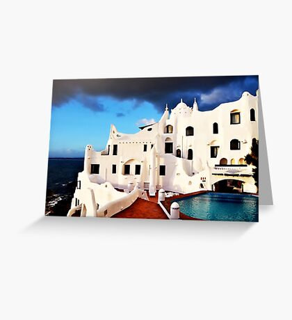 Casa Pueblo al Mar Greeting Card