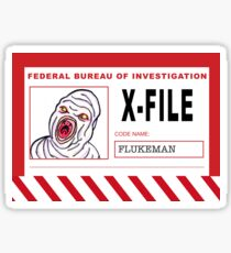 X-File: Flukeman Sticker