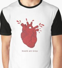 Hearts Are Gross Graphic T-Shirt
