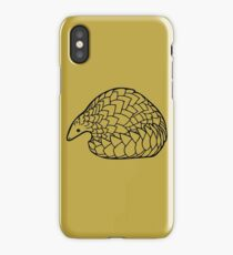 Save the Pangolins iPhone Case