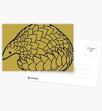Save the Pangolins Postcards