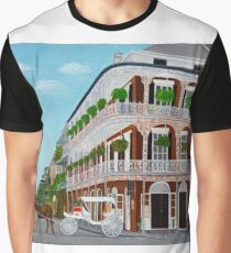 A Carriage Ride In the French Quarter Graphic T-Shirt