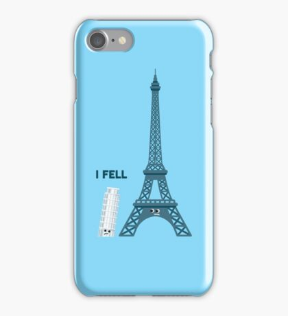 "Character Building - ""I Fell"" iPhone Case/Skin"
