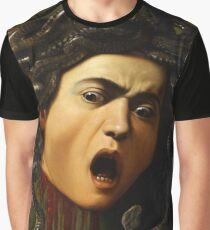 Medusa by Caravaggio Graphic T-Shirt