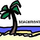 Beachfront Fantasy by HEVIFineart