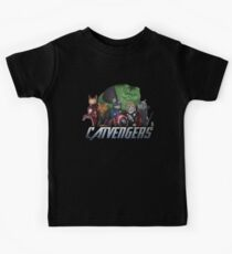 The Catvengers Kids Tee