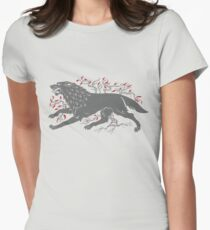 Old Wolf Women's Fitted T-Shirt