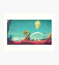 Rick and Morty Poster Art Print