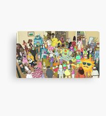 Where's Rick-do?  Canvas Print