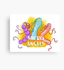 Micro Angels  Canvas Print