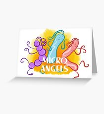Micro Angels  Greeting Card