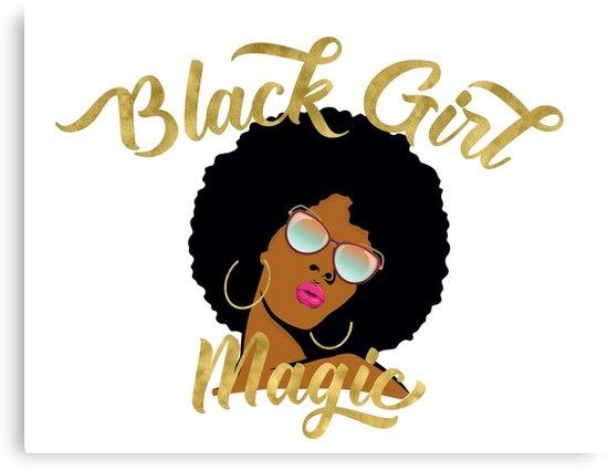 Black Girl Magic Graphic by monarchvisual