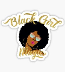 Black Girl Magic Graphic Sticker