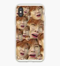 Monsta x face collage iPhone Case