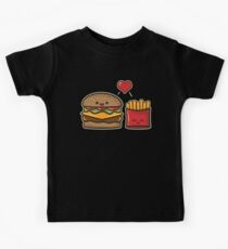 Burger and Fries Kids Tee