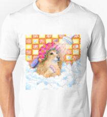 Dog 129 Golden Retriever Unisex T-Shirt