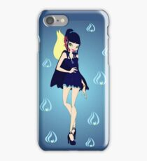 Blue Flame/Fire Fairy Drawing - (Designs4You) iPhone Case/Skin