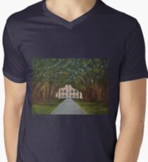 Oak Alley Plantation Men's V-Neck T-Shirt