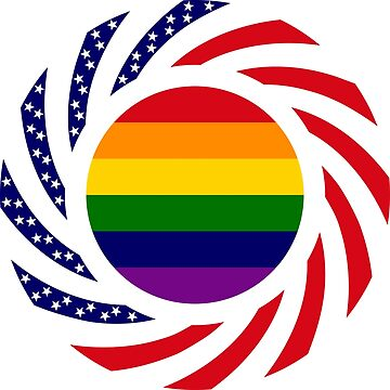 Love is Love American Flag by carbonfibreme