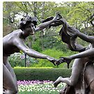 Three Dancing Maidens by Sarah McKoy