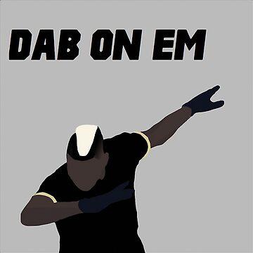 Pogba - Dab on Em Celebration minimalist by Mauro6