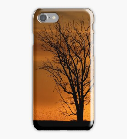 At End of Day II (Art & Poetry) iPhone Case/Skin