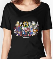 Undertale - All characters Women's Relaxed Fit T-Shirt