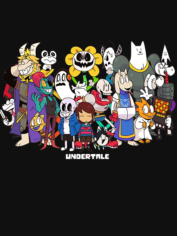 Undertale - All characters by Mauro6