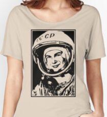 Cosmonaut Valentina Tereshkova Women's Relaxed Fit T-Shirt