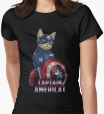 Captain Americat Women's Fitted T-Shirt