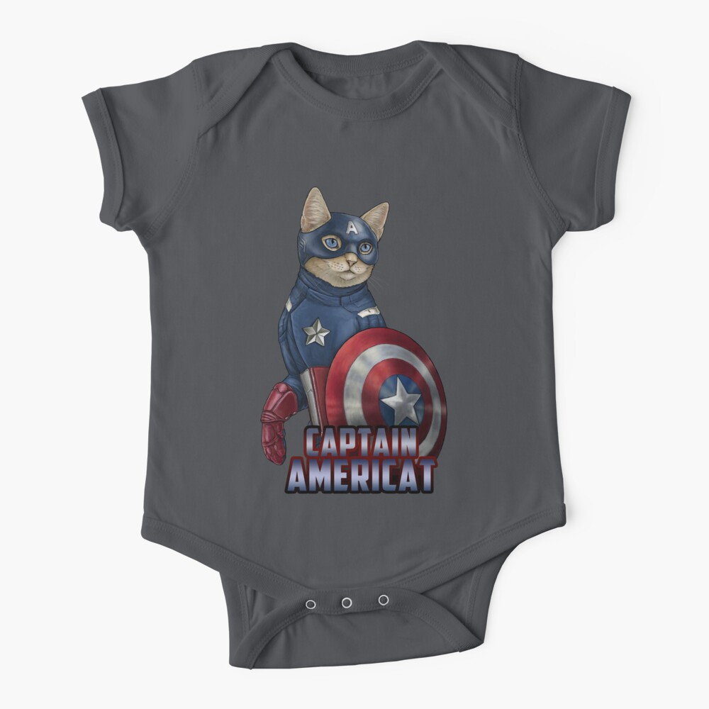 Captain Americat Baby One-Piece
