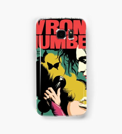 Wrong Number Samsung Galaxy Case/Skin