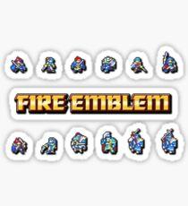 GBA LORDS   Fire Emblem Sticker