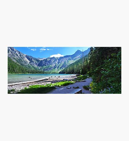 Avalanche Lake - Glacier National Park Photographic Print