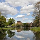 Conservatory View - Harlem Meer by Sarah McKoy