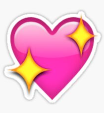 Sparkle Heart Emoji Sticker