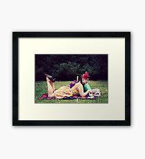 50s Lauren III Framed Print