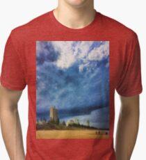 Storm over Burleigh beach Tri-blend T-Shirt