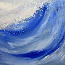 Blue Wave II by Kathie Nichols