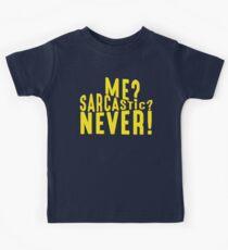 Sarcastic T Shirt Kids Clothes