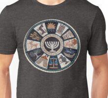 mosaic Hebrew, Jewish, 12 tribes Unisex T-Shirt