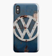 rustic vw badge iPhone Case/Skin
