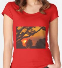 HEAT Women's Fitted Scoop T-Shirt