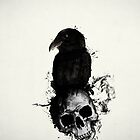 Raven and Skull by Nicklas Gustafsson