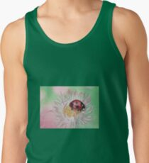 Ladybug on flower Tank Top