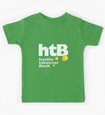 Hostile Take Over Bank Kids Tee