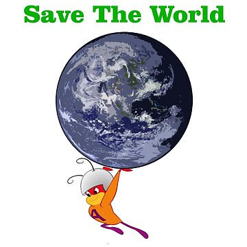 Save The World by susandstrock