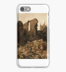 Peter De Wint  Title Ruins of the Bishop's Palace, Lincoln iPhone Case/Skin